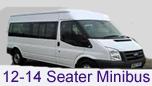 12-14 Seater Minibus Hire Leeds