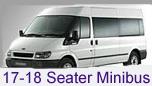 17-18 Seater Minibus Hire Leeds